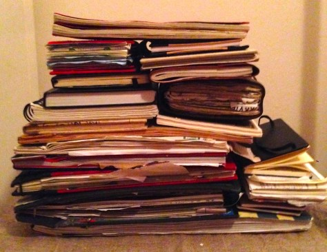 Collection: Scrapbooks, Journals and Notebooks (view 1)