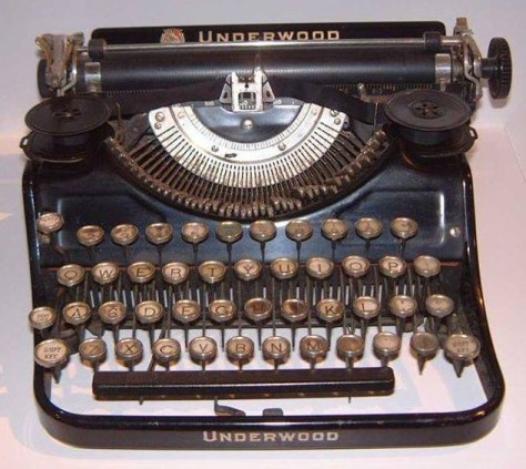 Typewriter: Kerouac's Underwood (used for On the Road)