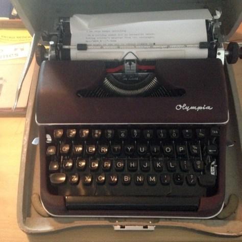 Typewriters: Olympia SM3 Sample