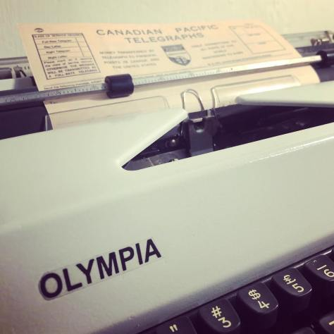 Typewriter: Words Aren't for Processing