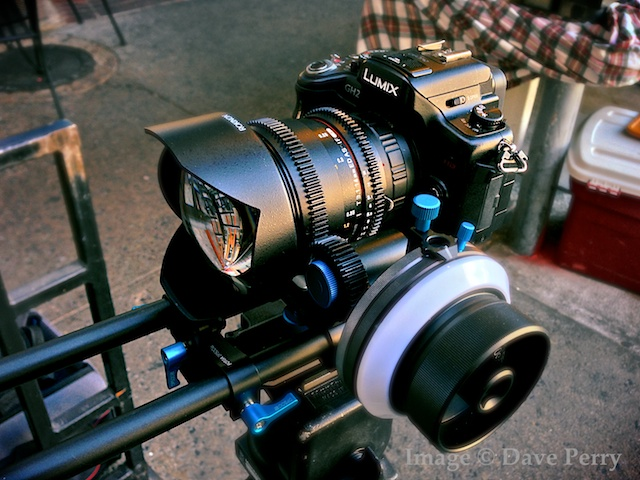 GH2 with 14mm T3.1 Rokinon Cine Lens