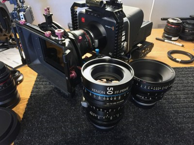 Schneider Xenon FF and Zeiss CP.2 50mm lenses.