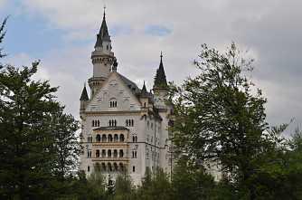 Neuschwanstein from the back
