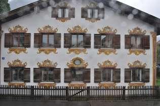 Murals in Oberammergau