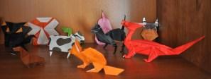 Dog, Spider, Elephant, Cat, Earwig, Bird