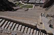 Temple Hill at Ollantaytambo