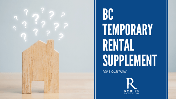 The BC Temporary Rental Supplement