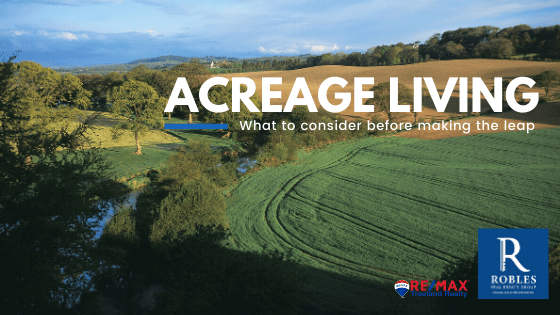 Things to consider when buying an acreage