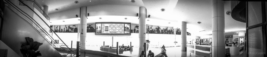 Cinema lobby.