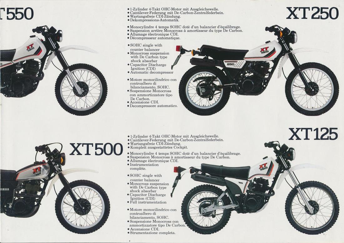 Xt400 Xt550