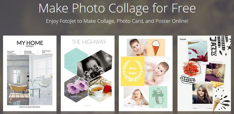 FotoJet: Create Professional Collages & Cards Online For FREE
