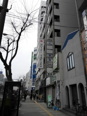 Hotel Sakura (I liked it. I recommend)