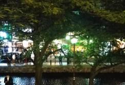 Kiyamachi at night