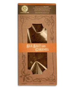 ChocTree Organic seasalt caramel bar