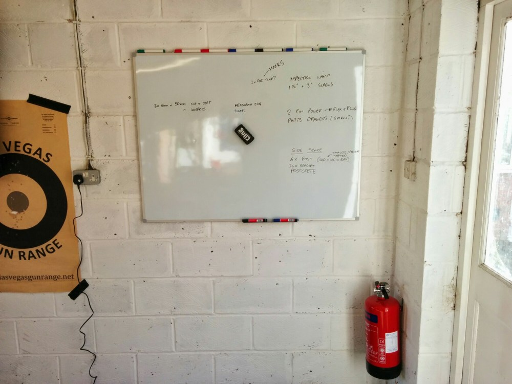 Prepping The Garage (3/5)
