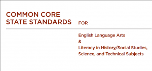 The CCSS anchor standards are for social studies, history, science, and technical subjects -- not just ELA!