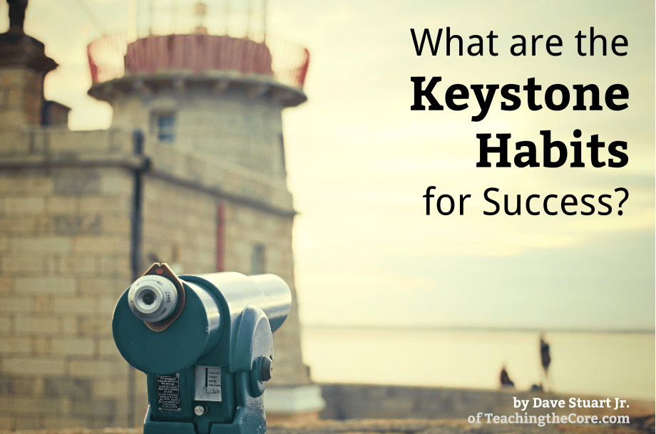 Post Image- Keystone Habits Success