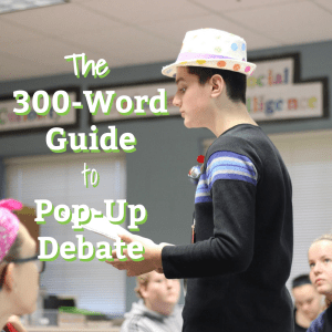 Post Image- Pop-Up Debate Guide