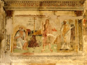 Fresco in the Carrara Cathedral
