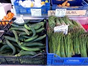 Market day in Pienza