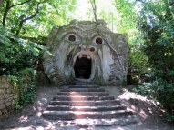 Park of the Monsters. This was built in the late 1500's