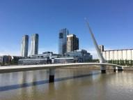 Puente de la Mujer (Women's Bridge), Buenos Aires