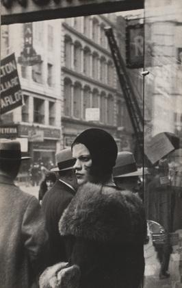 Walker Evans Girl on Fulton Street
