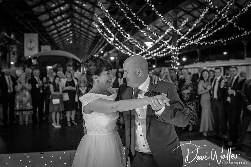 York Railway Museum Weddings | York Wedding Photographer | Sue & Russell