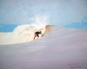 """Costa Rica"" ""inner surfer art"" ""surf art"" ""surfing art"" ""oil painting"" ""ocean painting"" surf, ""blue hues"" ""purple hues"" ""art with meaning"" ""Bodhi Surf School"" Uvita ""Bahia Ballena"" art, painting, artist"