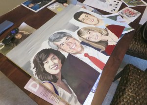 """family portrait painting"", ""portrait painting"", ""portrait art"""