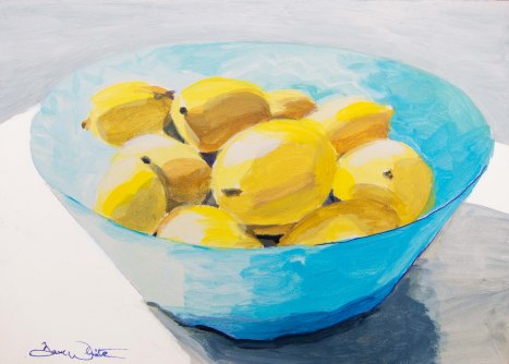 """lemons painting"", ""kitchen decor"", ""artist dave white"", ""loudoun artist"""
