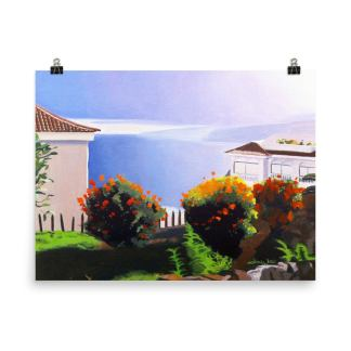 Tenerife Canary Islands Painting Ocean View