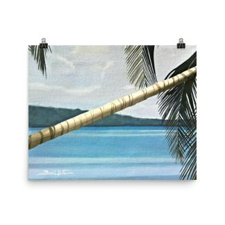 Beach Painting Cahuita Costa Rica