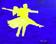dance art, dance painting, dancing painting, dancing art, artist dave white, dance, dancesport endurance, todd borzych, migle gineityte