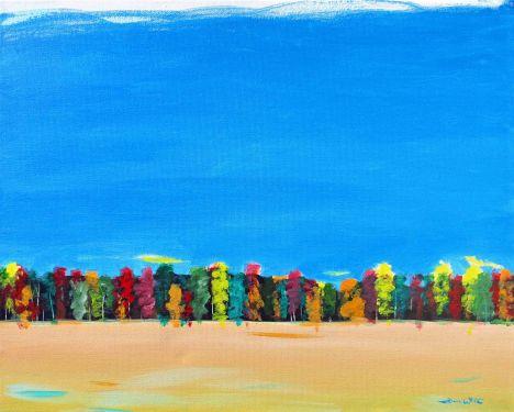 impressionism, original painting, artist dave white