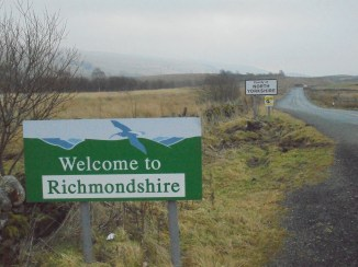 Printing error - A single sign should replace both - Welcome to the West Riding of Yorkshire