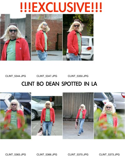 Exclusive Clint Bo Dean Pics