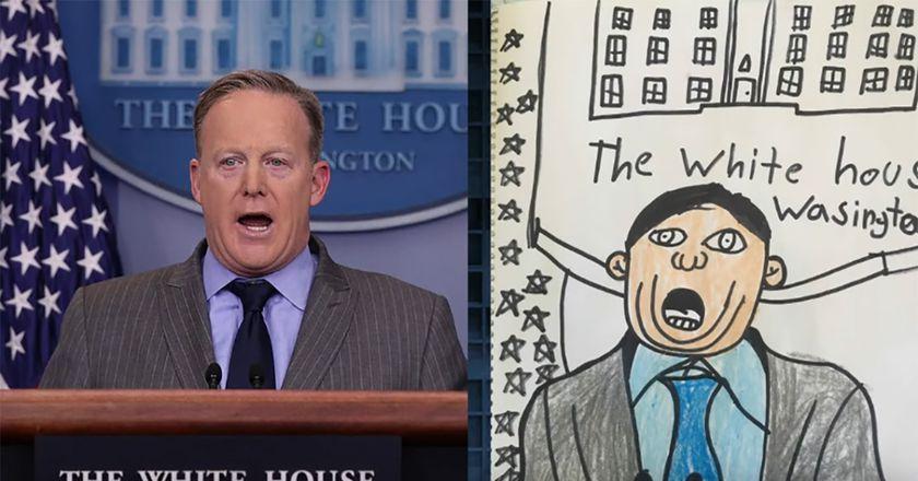 Kids Draw Trump's Cabinet