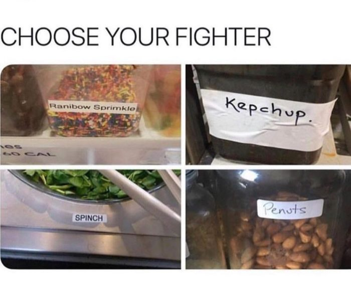 Choose your fighter