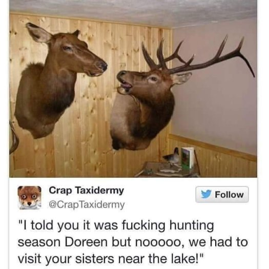 Fucking Hunting Season