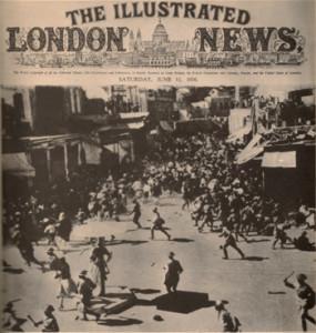 Jaffa, Palestine: The beginning of the Arab Revolt of 1936