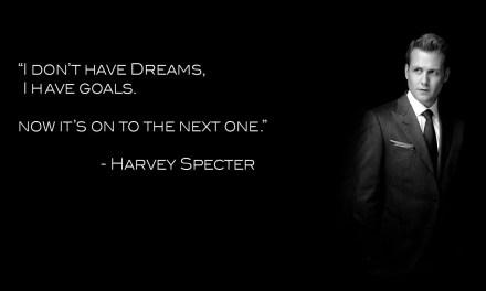 Nie mam marzeń, mam cele.