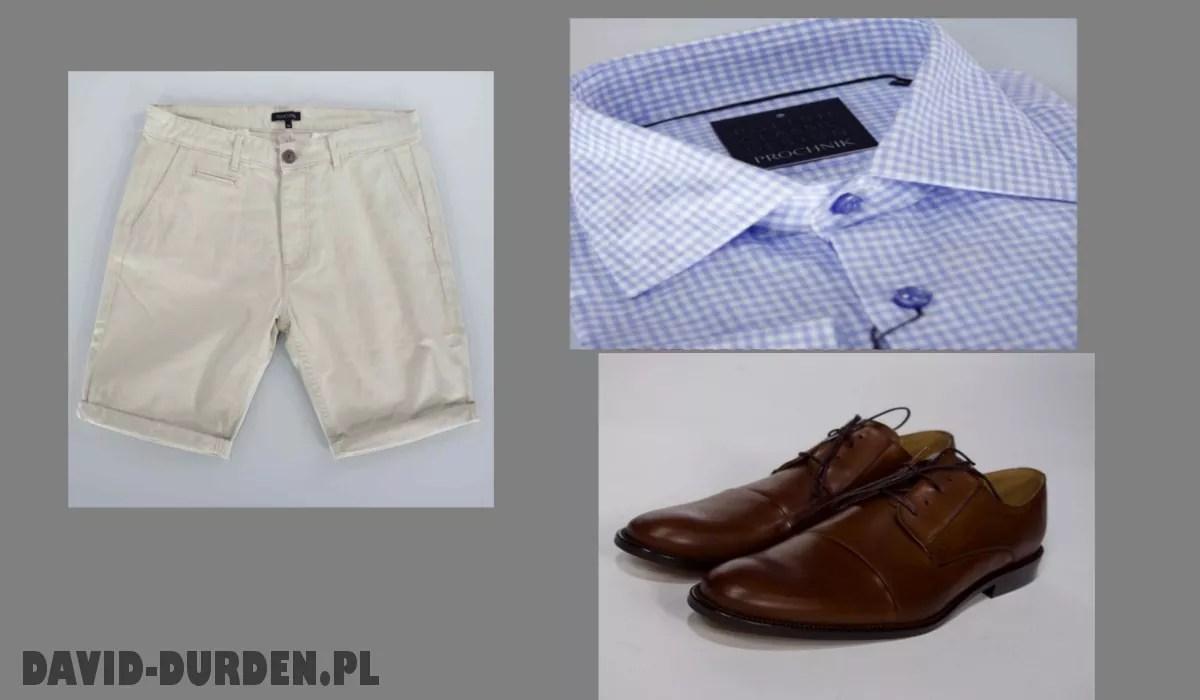 Koszula i krótkie spodenki Moda Męska David Durden