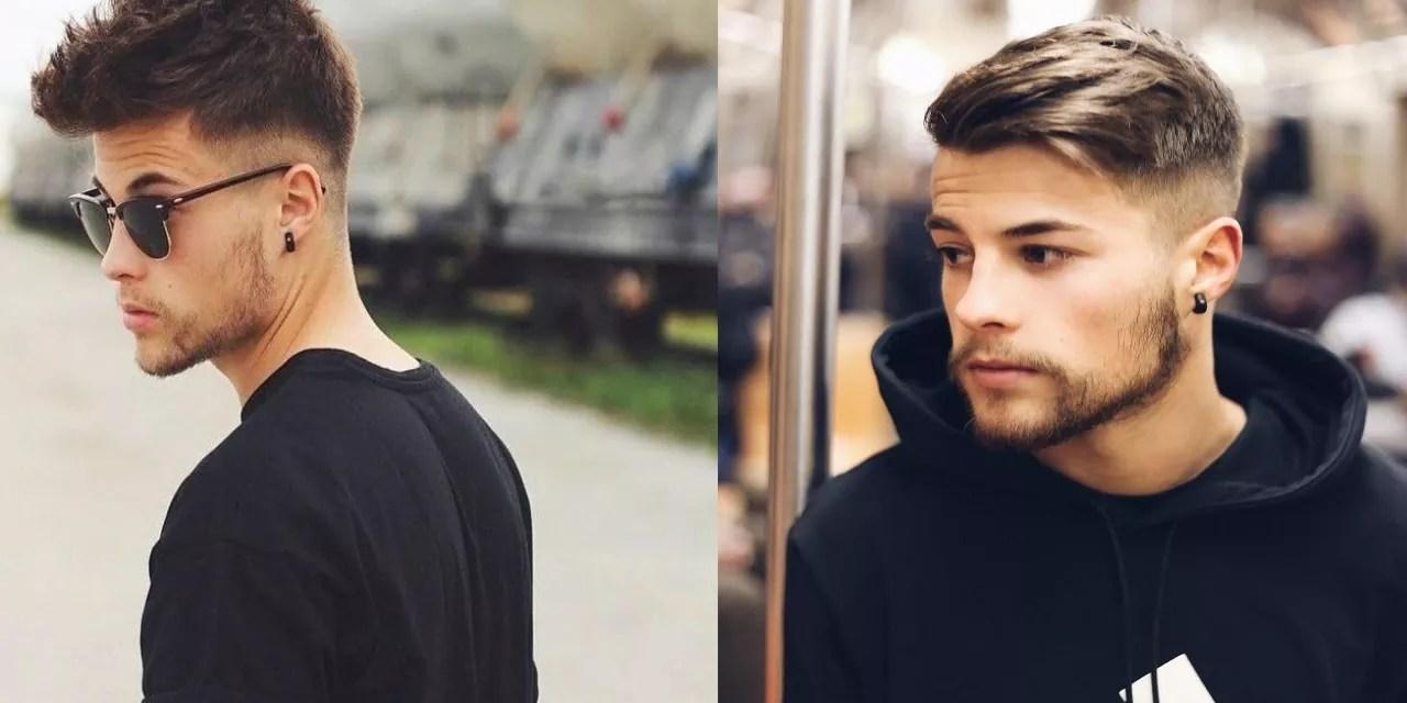 Najmodniejsze fryzury męskie w roku 2018