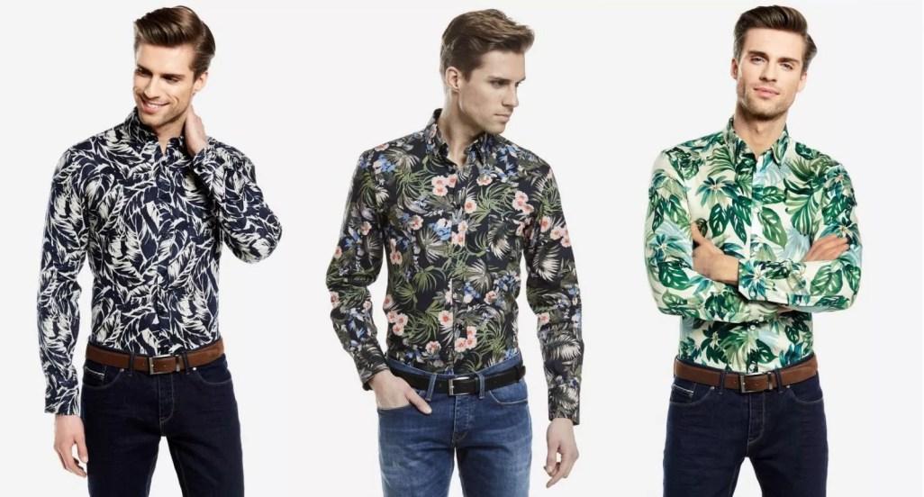 koszule męskie na lato 2018