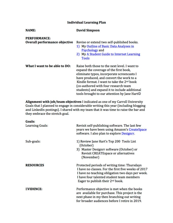 david-simpsons-individual-learning-plan