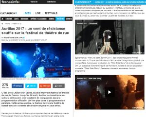 Wild Side Story, Août 2017, France Info, Aurillac