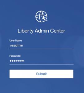 Liberty Admin Center