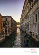Podul Suspinelor, Venezia, Italia, ianuarie 2017