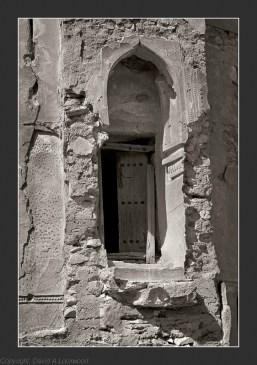 Tower entrance at Qabil 2